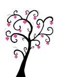 Árvore de amor ilustração stock