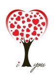 Árvore de amor Foto de Stock