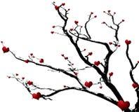 Árvore de amor Imagens de Stock Royalty Free