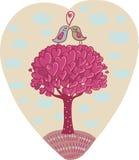 Árvore de amor Imagens de Stock