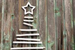 Árvore de ano novo Fotografia de Stock Royalty Free