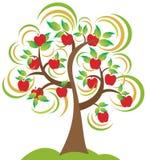 Árvore de Apple ilustração stock