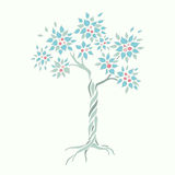 Árvore de Apple do vetor Foto de Stock Royalty Free