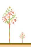 Árvore de Autum Foto de Stock