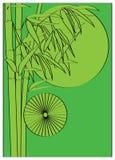 Árvore de bambu ilustração royalty free