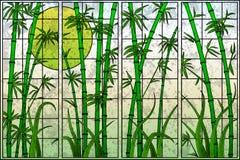 Árvore de bambu ilustração stock