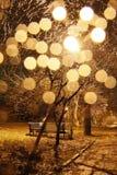 Árvore de brilho Fotos de Stock Royalty Free