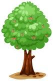 Árvore de cereja ilustração stock