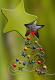 Árvore de Chrismass Imagem de Stock