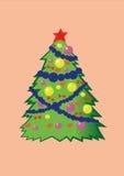 Árvore de Christmass ilustração stock