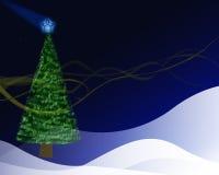 Árvore de Cristmas Ilustração Royalty Free