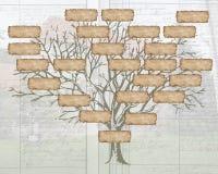 Árvore de família Foto de Stock Royalty Free