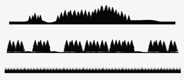 Árvore de floresta Imagens de Stock