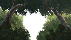 Árvore de Forground Imagens de Stock