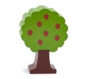 Árvore de maçã arborizado do brinquedo Fotos de Stock Royalty Free
