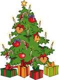Árvore de Natal Fotos de Stock