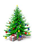 Árvore de Natal 2 Imagem de Stock