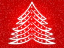 Árvore de Natal 2 ilustração do vetor