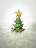 Árvore de Natal 2011 Fotografia de Stock Royalty Free