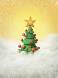 Árvore de Natal 2011 imagem de stock