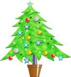 Árvore de Natal ilustração do vetor