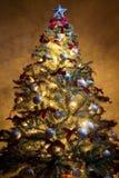 Árvore de Natal 3 Fotografia de Stock Royalty Free