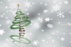 árvore de Natal 3D Fotos de Stock
