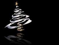 árvore de Natal 3D Fotos de Stock Royalty Free