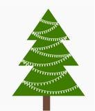 Árvore de Natal Imagens de Stock