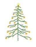 Árvore de Natal Imagens de Stock Royalty Free