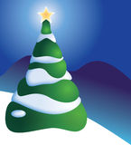 Árvore de Natal Fotografia de Stock Royalty Free