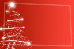 Árvore de Natal abstrata Fotografia de Stock