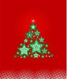 Árvore de Natal abstrata Imagens de Stock Royalty Free