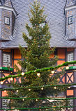 Árvore de Natal alemão fotografia de stock royalty free