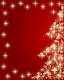 Árvore de Natal artística ilustração do vetor