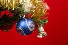 Árvore de Natal - ascendente próximo Imagem de Stock