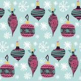 A árvore de Natal bonita gráfica escandinava artística bonita do teste padrão da colagem do ano novo do feriado da arte retro do  ilustração do vetor