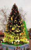 Árvore de Natal da arte Imagem de Stock