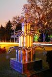 Árvore de Natal da arte Fotografia de Stock