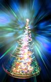 árvore de Natal da cor Fotografia de Stock
