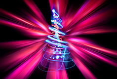 árvore de Natal da cor Foto de Stock Royalty Free