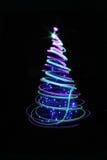 árvore de Natal da cor Imagens de Stock Royalty Free