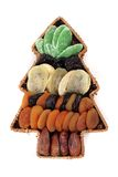 Árvore de Natal da fruta Imagem de Stock Royalty Free