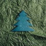 Árvore de Natal de papel imagem de stock royalty free