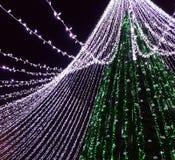 Árvore de Natal de Vilnius Foto de Stock
