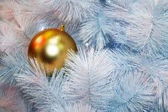 A árvore de Nataldecoração, celebração do ano novo foto de stock