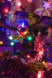 Árvore de Natal decorada Fotos de Stock Royalty Free