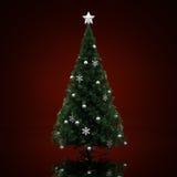 Árvore de Natal decorada Imagem de Stock