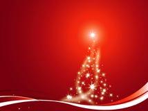 Árvore de Natal decorada Foto de Stock Royalty Free