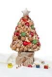 Árvore de Natal decorativa Fotografia de Stock